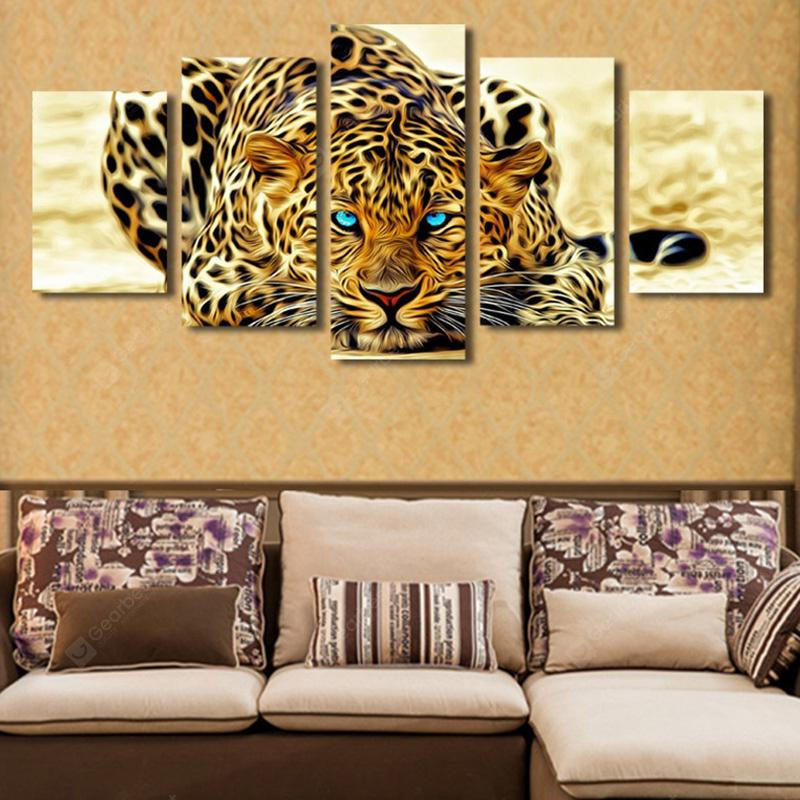 Animals Creative Modern Home Decorative Painting without Framed Prints 5pcs