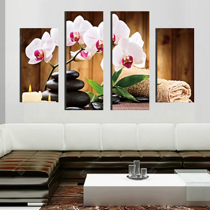 Butterfly Creative Modern Home Decorative Painting without Framed Prints 4pcs