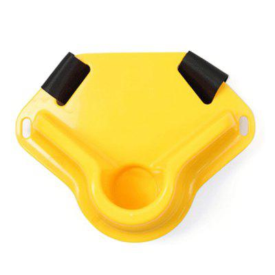 ABS Fishing Rod Holder Portable pas biodrowy dla Rybaka