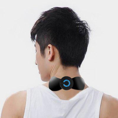 Portable Smart Neck Massager Paste Low Frequency Therapy Pulse Pressure Pain Relief Mini Point Massage Pad