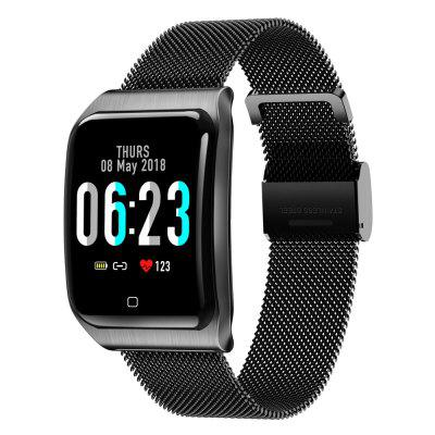 F9 Smart Watch Heart Rate Detection Milan Wristbands for Men and Women