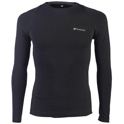 NUCKILY MH010 Outdoor Sports T-shirt Leisure Long Sleeved Shirt Spring Summer Clothing for Men Women Riding Fitness