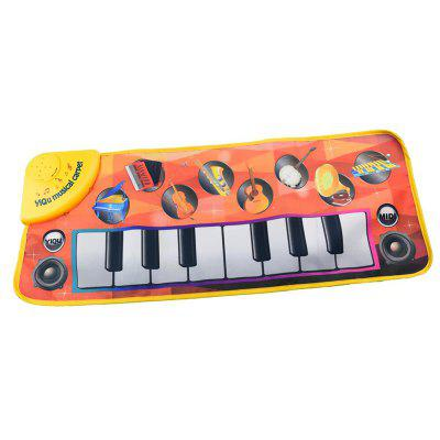 Children's Multifunctionele Piano Music Pad Dance Game Deken
