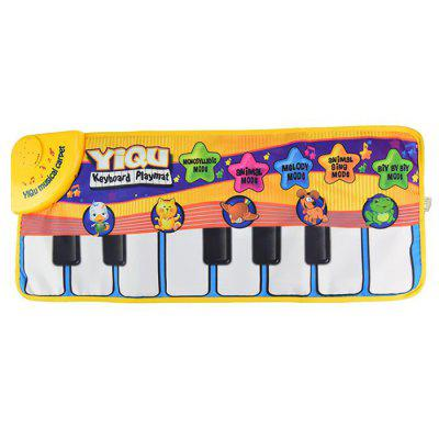 Children's Multifunction Foldable Piano Music Pad Dance Game Blanket Mat