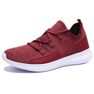Mens Large Size Shoes Lightweight Breathable Fabric Male Footwear Casual Sports Shoes