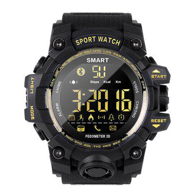 Camouflage Sports Smart horloge multifunctionele waterdichte Smartwatch Remote Camera functie voor Android iOS