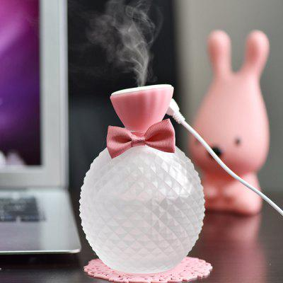 Desktop Crystal Bottle Humidifier USB Air Purifier Aromatherapy Diffuser