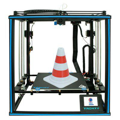 Tronxy X5SA-2E Precision FDM 3D Printer Large Industrial Consumer Commercial Touchscreen DIY