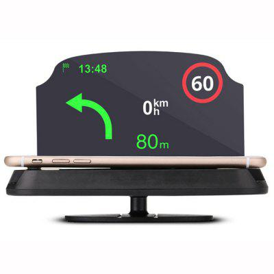 HUD Upgraded Version Mobile Navigation Bracket Car HUD Creative Projection