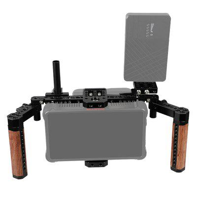 CAMVATE C1763 Directors Monitor Cage Kit with Wood Handles