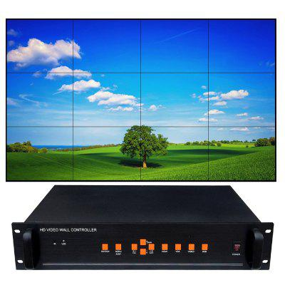 CQ-BOX12 Screen Video Splicer ultra-subțire Bezel controler HD 1080P ecran LCD Procesor pentru televizoare LCD