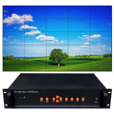 CQ-BOX25 1080P HD Screen Display Processor Video Controller LCD Ultra Narrow Screen Picture Splicer voor LCD TV
