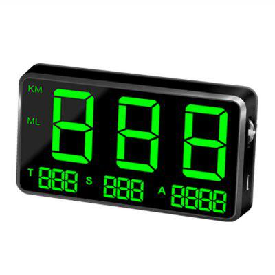 C80 General Automotive HUD Display Car GPS Speed ​​Alarm Mileage Head-up digitale display auto-elektronica accessoires