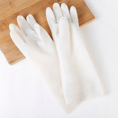 Puncture-proof Nitrile Glove Oil-resistant Non-stick Protective Latex Gloves for Universal Kitchen Dishwashing Medical Work Garden