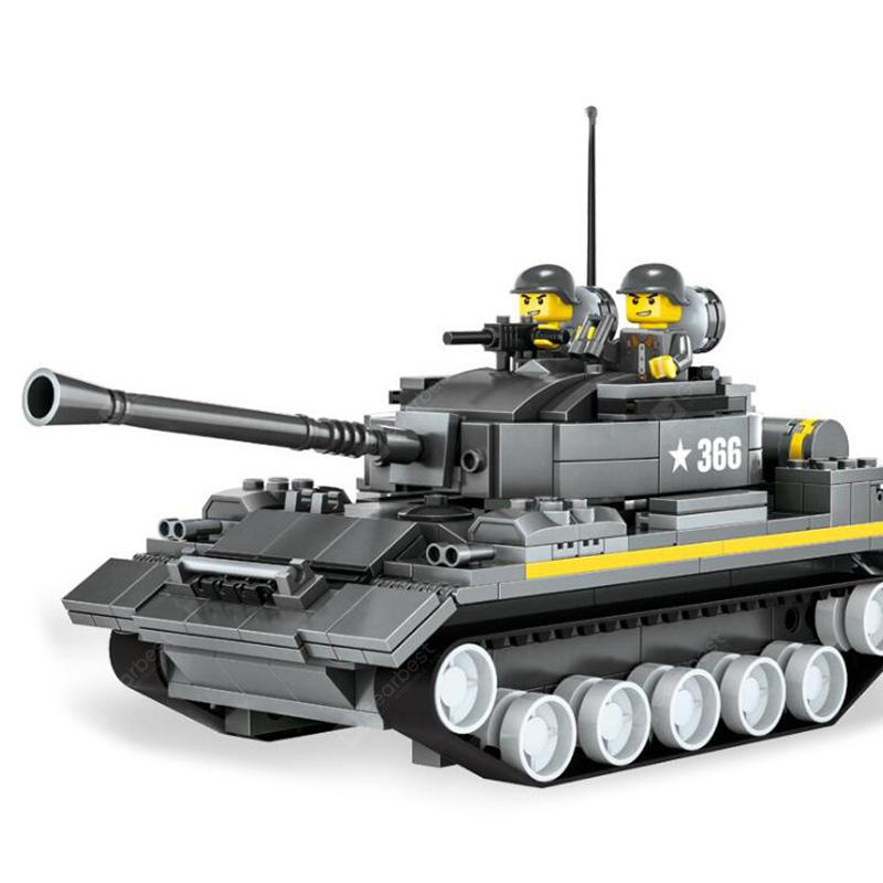 WANGE DIY Small Particles Compatible Toy Military Tank Military Reload