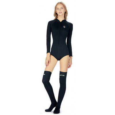 The New Piece Bikini Swimsuit Diving And Quick Warm 2mm Long-barreled Socks Surfing Wetsuit Diving Suit