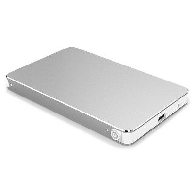External USB 3.1 Hard Drive Enclosure Aluminum Alloy Hard Disk Box Notebook Laptop HDD Case 2.5 Inch Solid State Drive Box