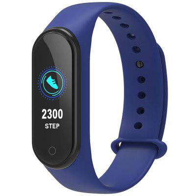 M4 colorat Touch Screen inteligent Band Fitness Tracker Wristband inteligent magnetice de încărcare brățară