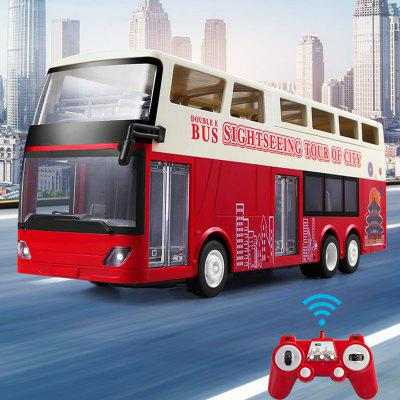 Double E E640 Remote Control Toy Car Double-decker Tour Bus