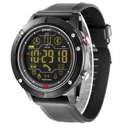 Big Dial Smart Heart Rate Stappenteller Outdoor Sport Waterproof Bluetooth Smart horloge