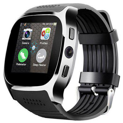 2020 intelligens Watch Phone T8 Camera érintőképernyő Bluetooth Smart-SIM Watch Camera TF kártya Android iPhone