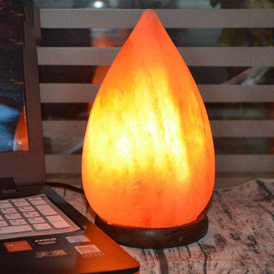 BRELONG BR01002 Crystal Lamp Anion Drop Shape Night Light Lamp