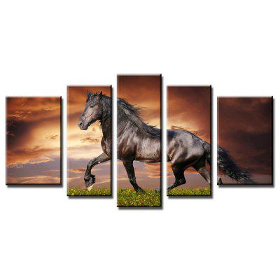 Running Horse Canvas Painting Wall Art Print Poster Picture Decorative Paintings Living Room Home Decoration Without Frame