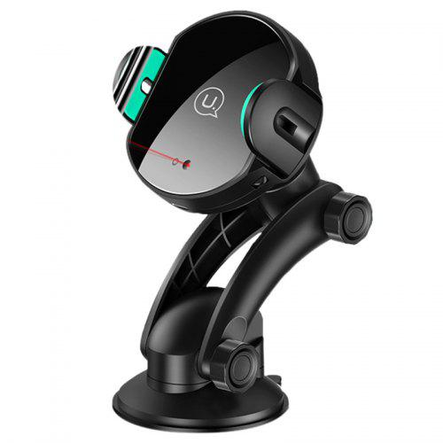 USAMS 10W Infrared Induction Fast Charging Phone Holder Stand Wireless Car Charger Mount for iPhone 11 Pro Xiaomi Mi9 S10 + Note 10