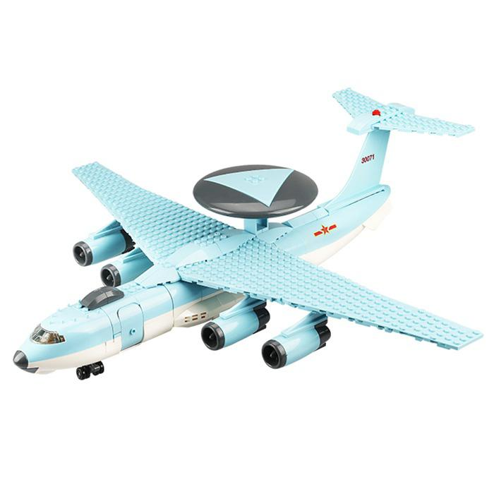WANGE 5005 Puzzled Assembled Toy Building Blocks Small Particles DIY Military Model Military Series - Air Marshals 2000 Model 202pcs