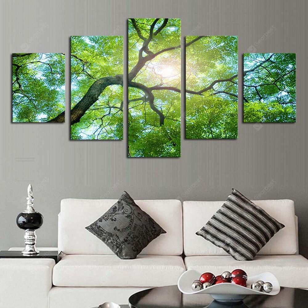 DC1-100 (5) High Precision Picture Canvas Printing Decorative Painting without Frame