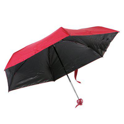 Sun Block Lightweight Capsule Umbrella Mini Small Folding Sunscreen Umbrella Folding Vinyl Umbrellas