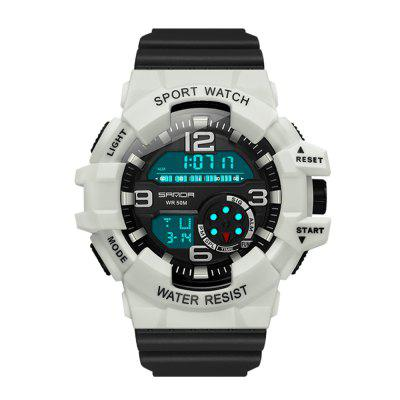 SANDA 387 Men's Sports Digital Multifunction Electronic Watch