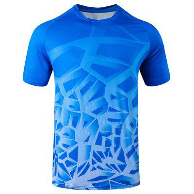 Badminton Clothing Men Casual T-shirt Quick-drying Clothes Table Tennis Sports Suit