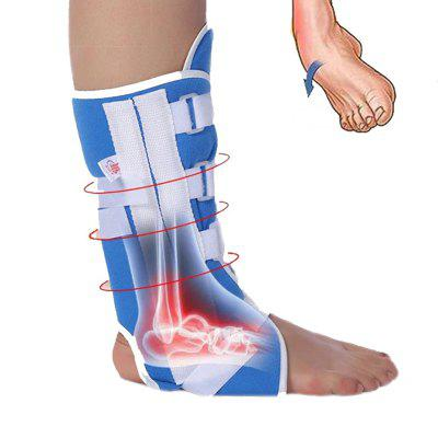 Adjustable Ankle Support Brace Calf Sprain Strap Fracture Fixation Band Fixing Bandage for