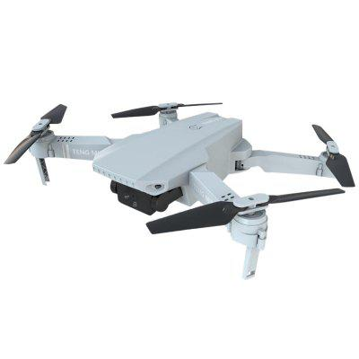 KF609 Folding Drone Dual Camera High-definition Gesture Shooting Aerial Photography Quadcopter RC Toy - 4K Optical flow+Storage Bag White