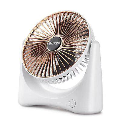 Portable Mini Electric Fan Dormitory Home Office Desktop USB Charging Air Circulation Fan