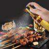 Push Type Oil Glass Bottle Barbecue Grill Injector Oiler Bottle Injection Pot - COPPER