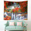 Maple BosWaterval Pattern Tapestry - MULTI