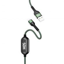 USAMS Lightning 8 Pin Charging Cable Digital Display Power Line 2A Fast Charge for iPhone