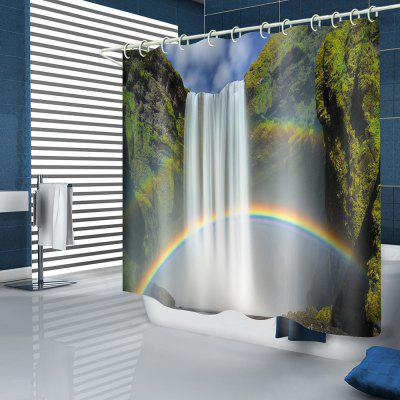 Rainbow Falls model impermeabil perdea de dus baie Decor