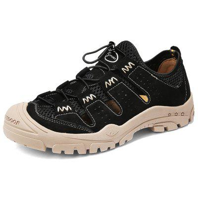 AILADUN Summer Hollow Out Breathable Men Sandals Casual Outdoor Male Shoes