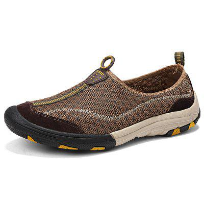 AILADUN Summer Breathable Mesh Men Shoes Outdoor Casual Male Footwear