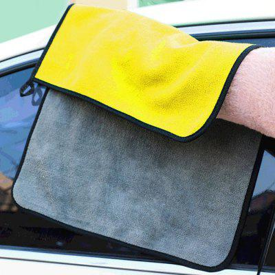 Super Absorbent Car Wash Cloth Coral Fleece Thick Rag Cleaning Drying Towel Car Care Polishing Special Towels