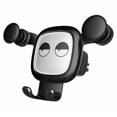 Rozzlobený Bear Dull Bear Car Phone Holder Air Vent Gravity Bracket Mobile Navigation stojan pro iPhone 6 / 6s / 7 / 7s / 8 / 8s
