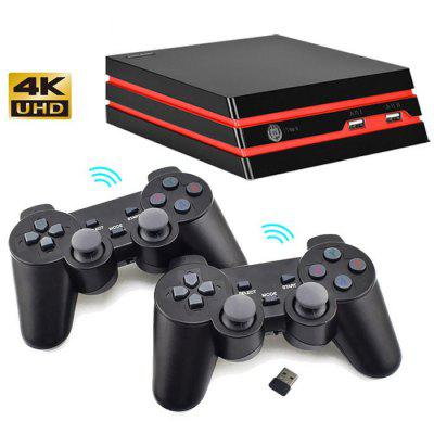 Y3 64bit 4K HD Retro Video Game Console Built-in 600 Games Wireless Controller Gaming System for GBA / SNES Arcade HDMI Game Box