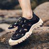 AILADUN Summer Hollow Out Breathable Men Sandals Casual Outdoor Male Shoes - BLACK