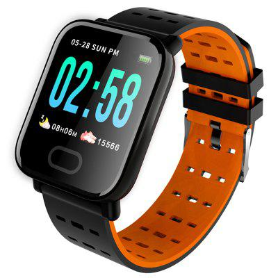 A6 Smart Watch Monitor Della Frequenza Cardiaca Smartwatch Braccialetto di Pressione Sanguigna