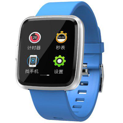 Y7P Full Touch Color Screen Smart Watch 1.3 Inch Waterproof Sport Smartwatch Support Pedometer Message Reminder