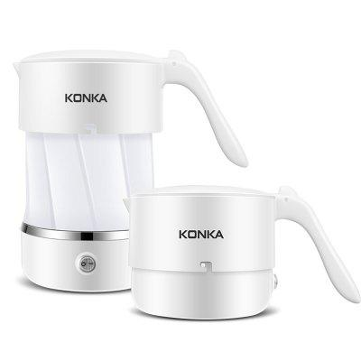 KONKA KEK06G501 0.5L Mini Folding kanvica Portable Travel 600W Voda Kotol Pot 110 - 240V