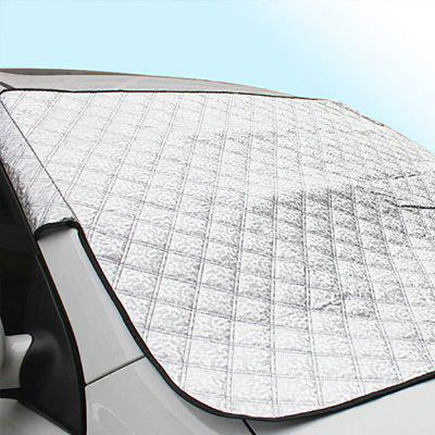 Thick Front Car Windshield Sunshade Snow Cover Half Aluminum Film Visor Sun Shield